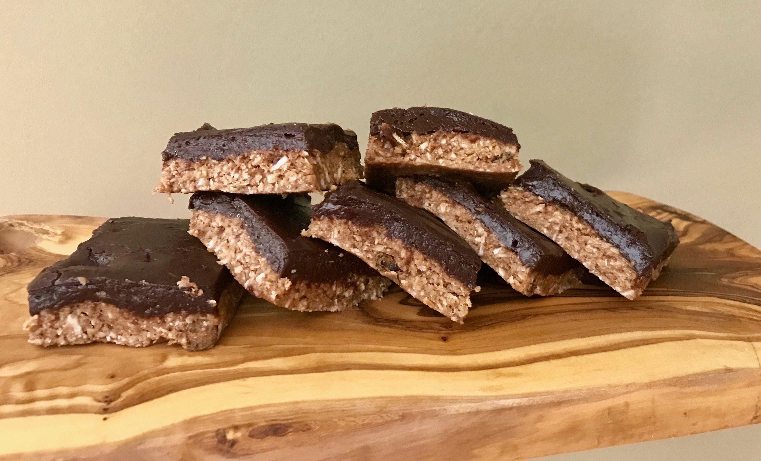 Chocolate Fudge Protein Energy Bars