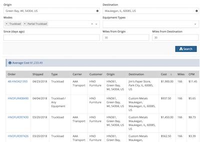 Logistically TMS Screenshots -
