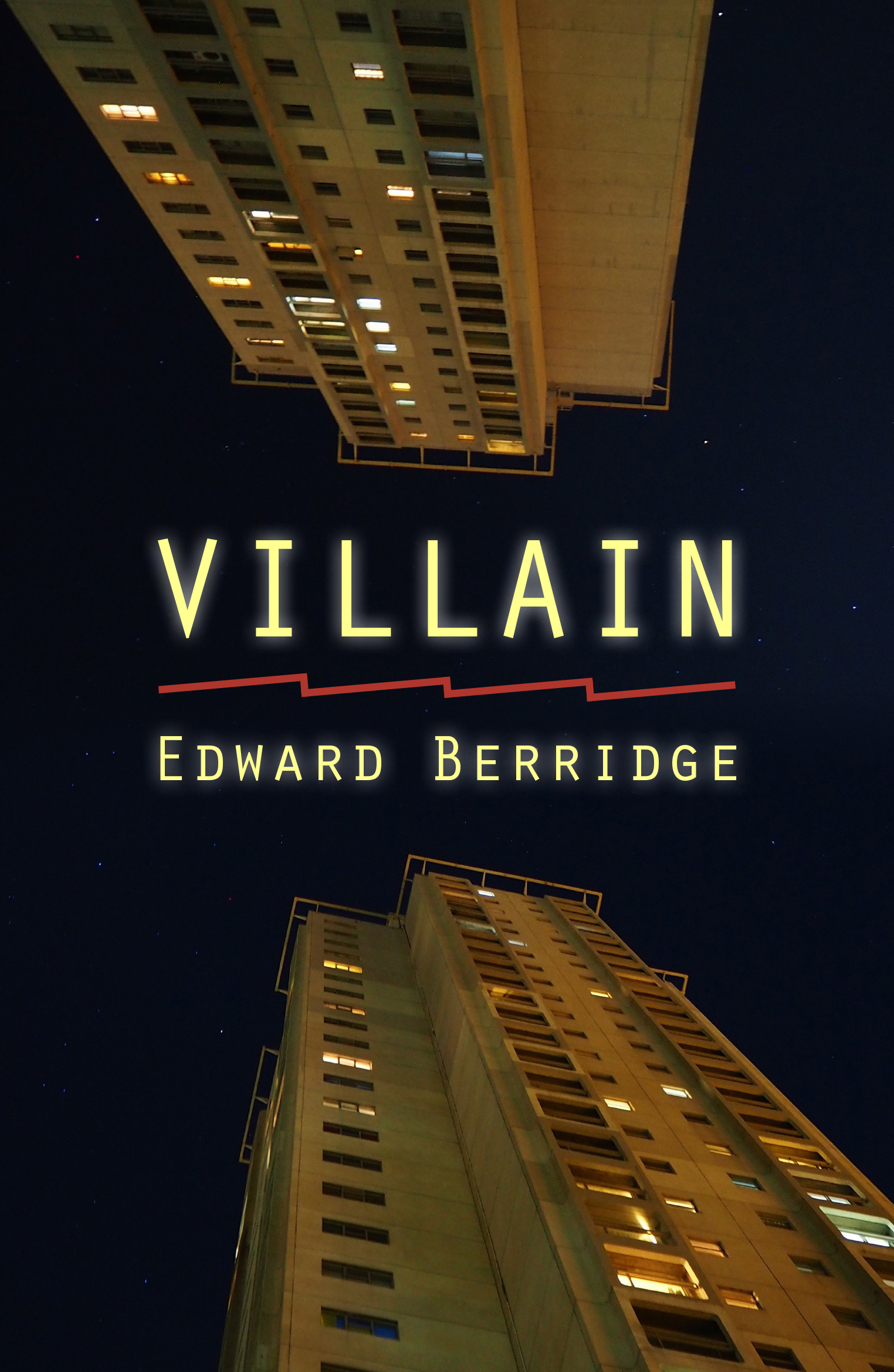 Villain by Edward Berridge Front cover.jpg