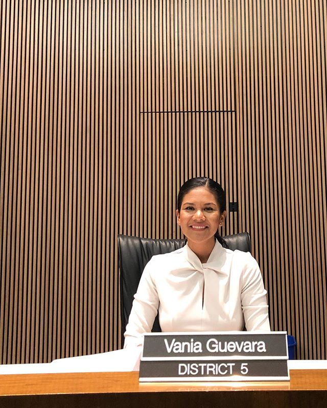 Serving as D5's Councilwoman for the past ten months has been an honor. I'm grateful for the opportunity to represent District 5, which is truly my home. I've written a few thoughts about the past ten months, and the future of our City:  https://medium.com/@vaniaguevara/home-baf63740e7ec