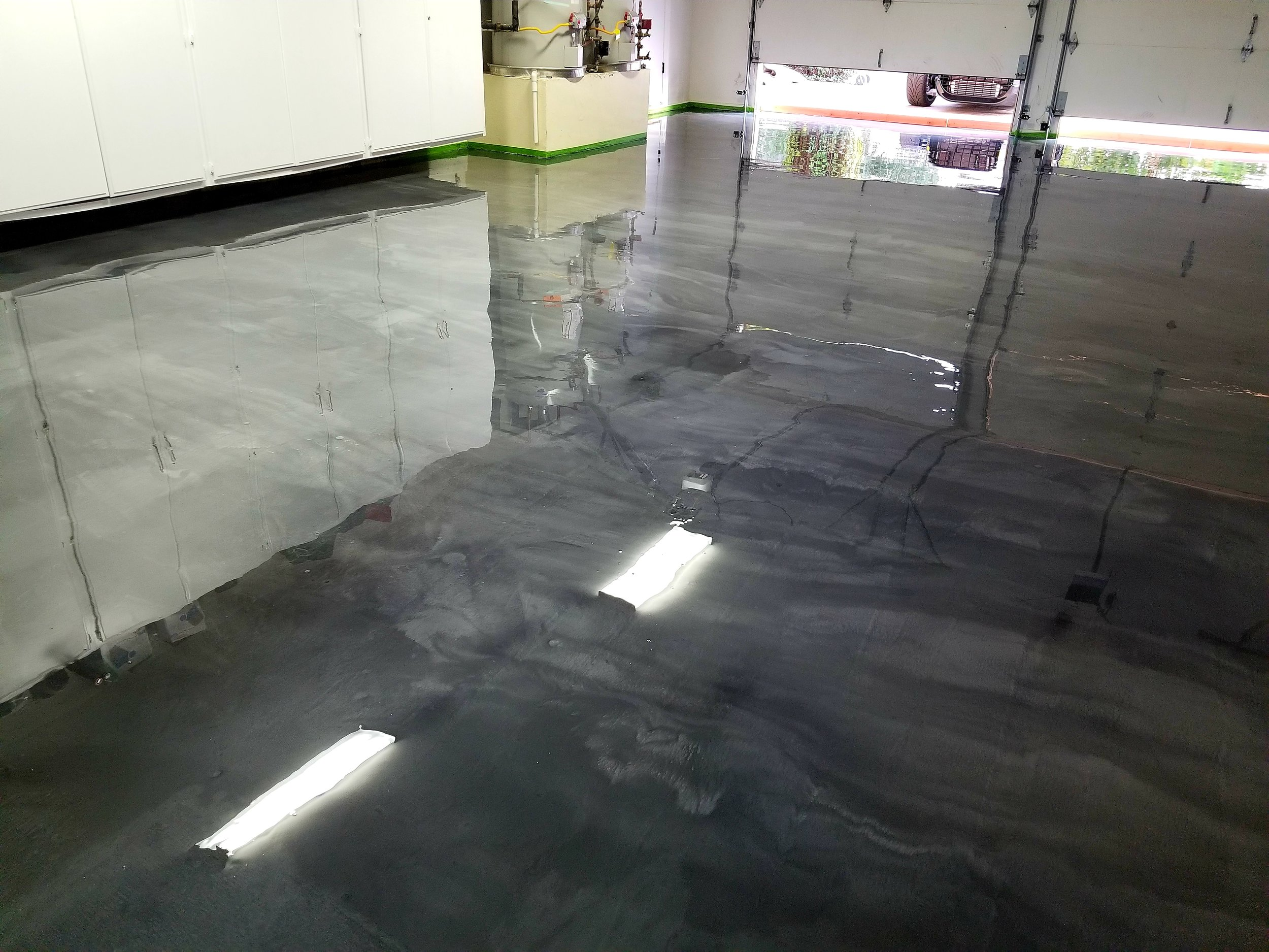 Metallic Epoxy @ Thousand Oaks, CA
