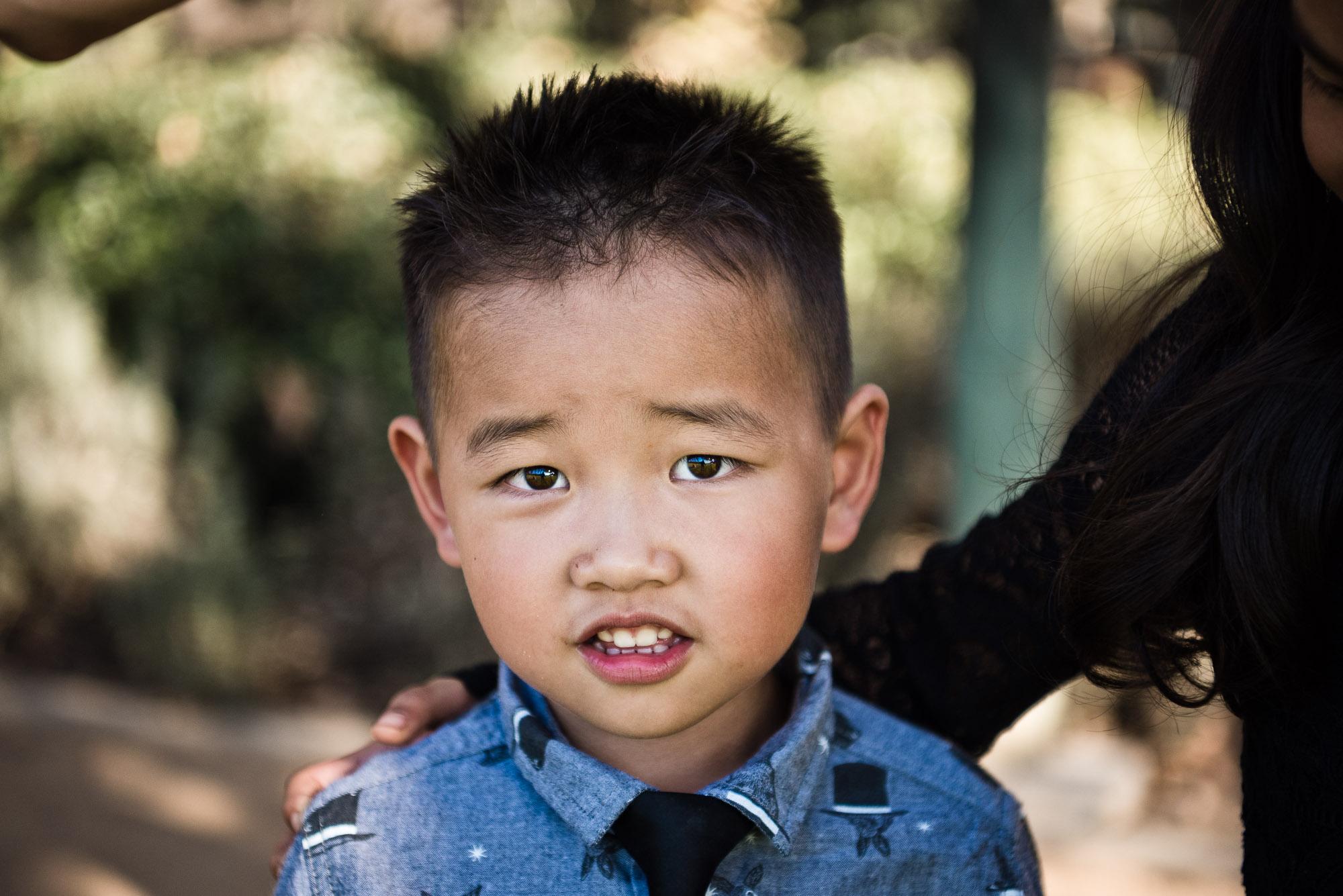 Little boy in Cedar Grove Park in Tustin, California. Full post at lisahuchen.com.