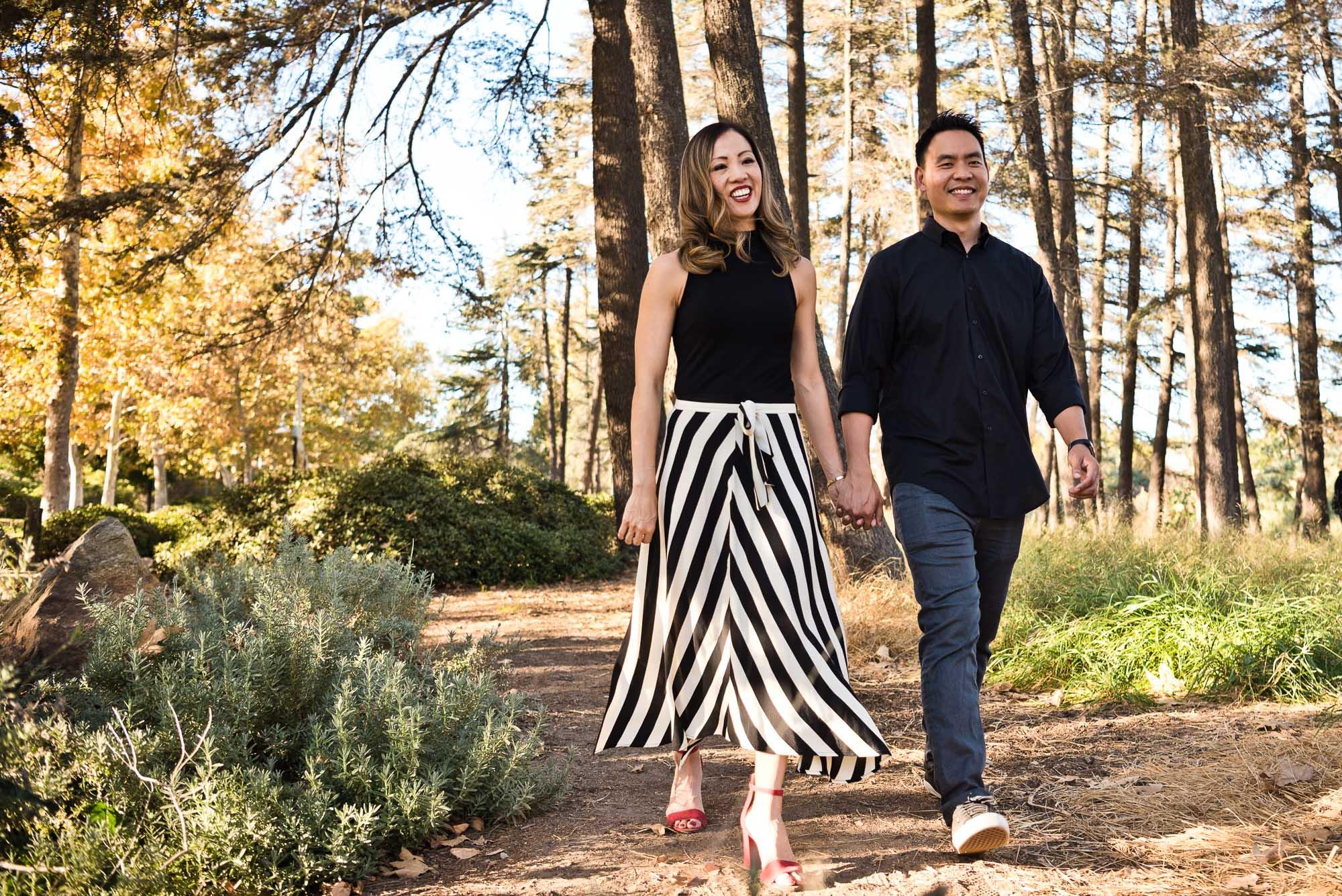 Mom and dad walking in Cedar Grove Park in Tustin, California. Full post at lisahuchen.com.