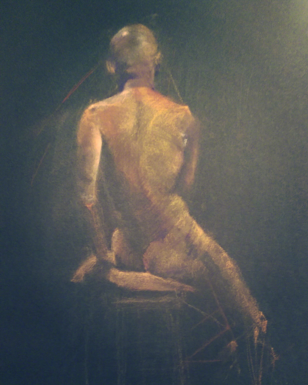 Pastel on Paper 8 x 10 inches