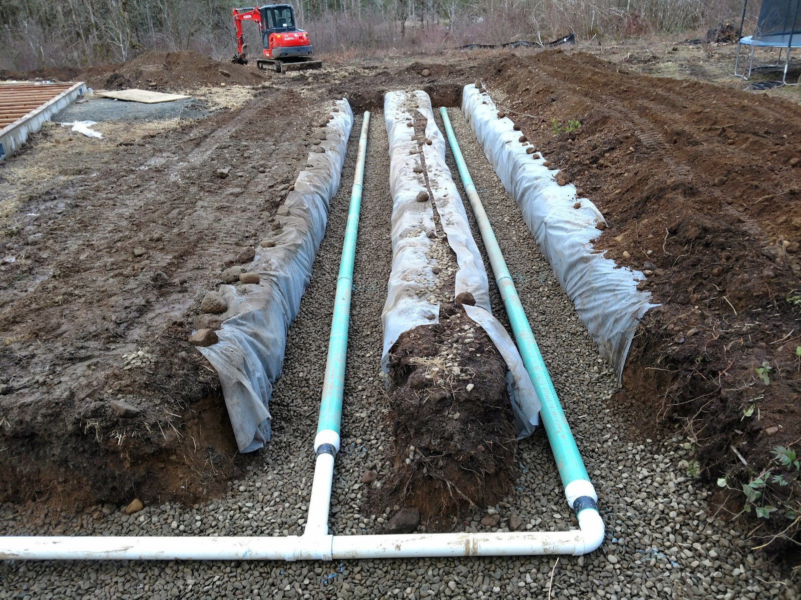 New Residential Storm Water System