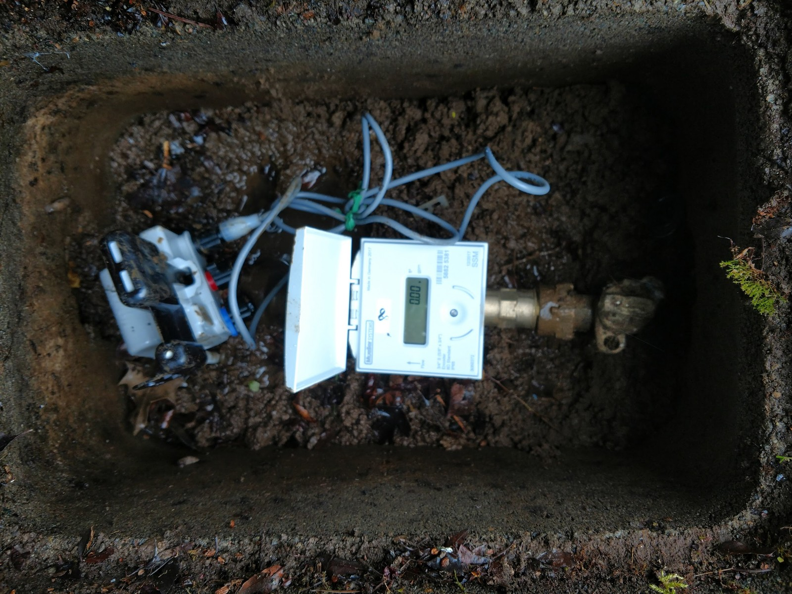 New Water Meter with ERT Installation