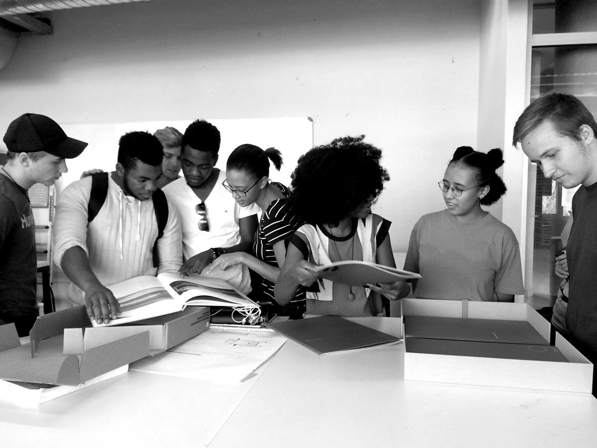 unpacking the folio - at the University of Technology & Science in Namibia