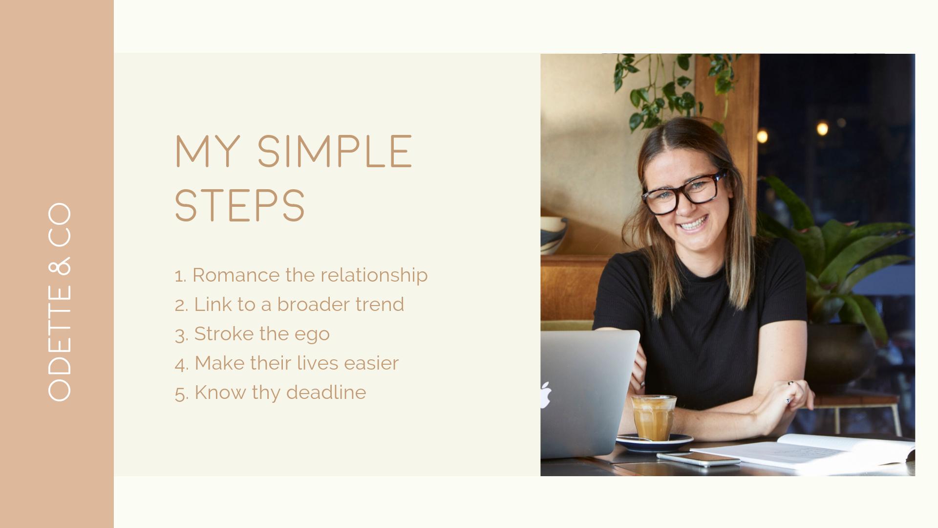 Simple steps to win PR