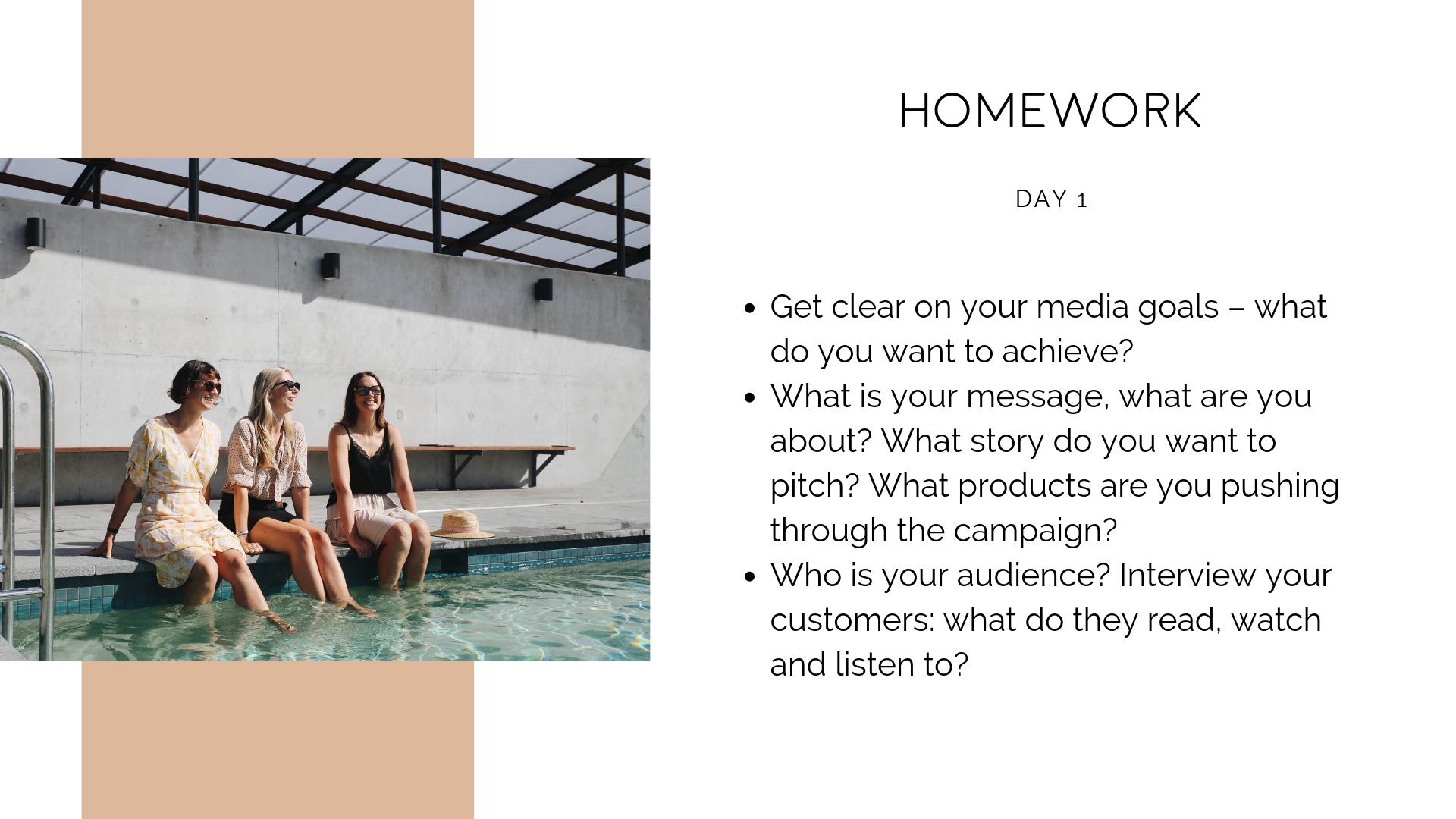 How to DIY your PR - publicity homework