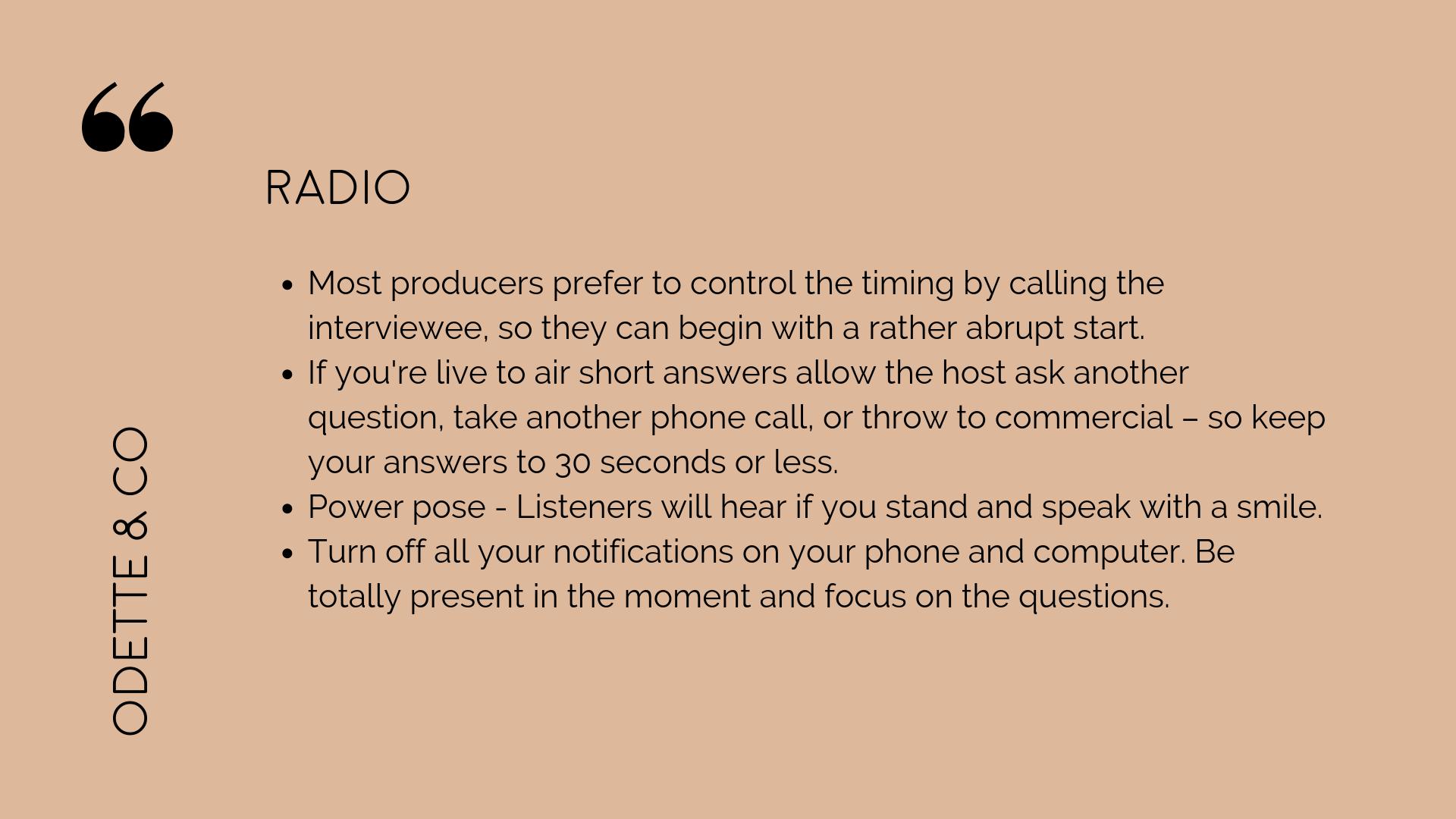 How to DIY your PR - radio interviews