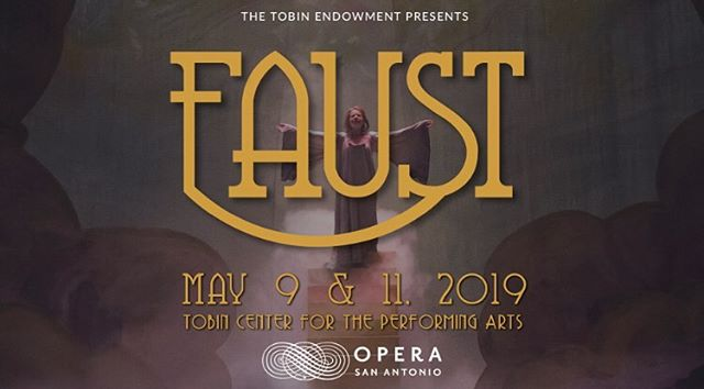 Catch me tomorrow as I take over @operasanantonio 's Instagram! Follow me and my cast mates as we prepare for our dress rehearsal of Faust! See you then. ❤️