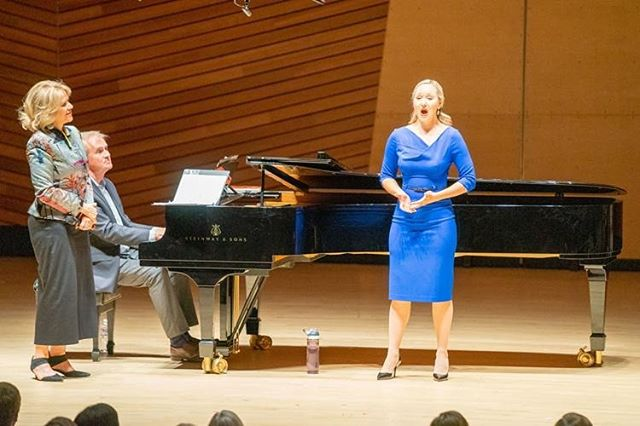 Renée Fleming Masterclass with the Aspen Music Festival💙