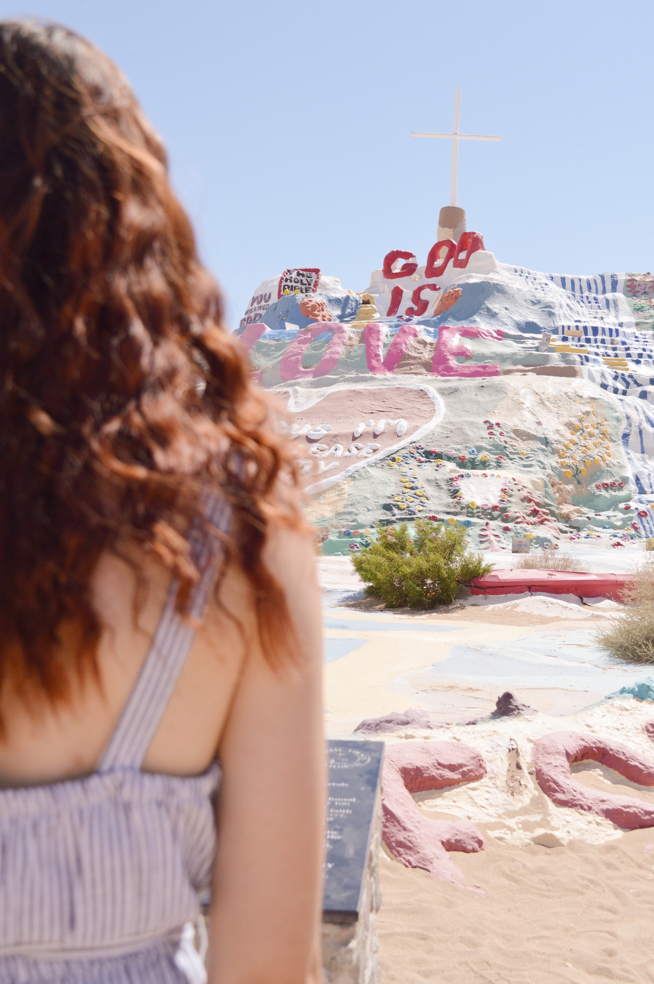 Salvation Mountain | Palm Springs, CA | Living With Leslie