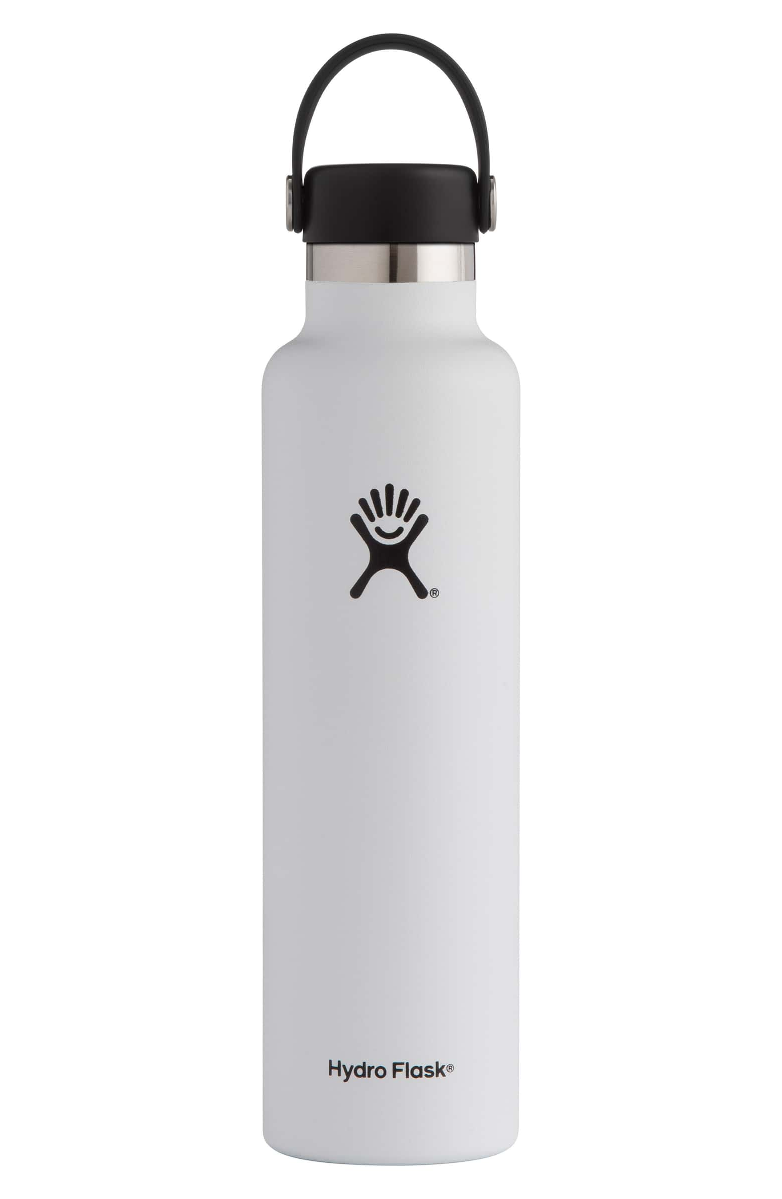 water bottle - Stay hydrated with this vacuum insulated stainless steel water bottle.