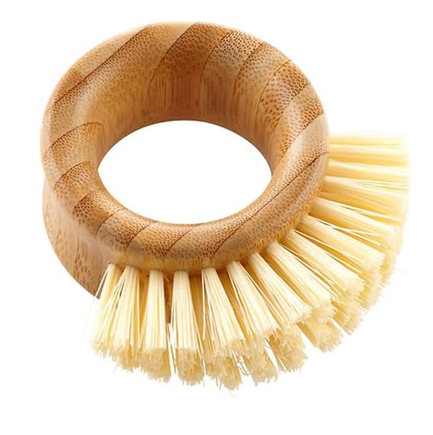 veggie brush - Keep organic produce extra clean with this fun looking bamboo brush.