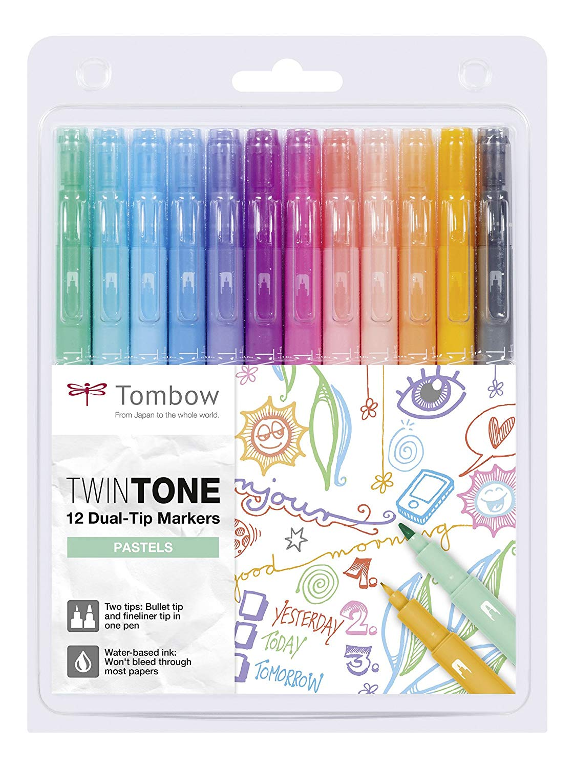markers - After rediscovering my lost love for coloring books, I decided to invest in these pretty markers.