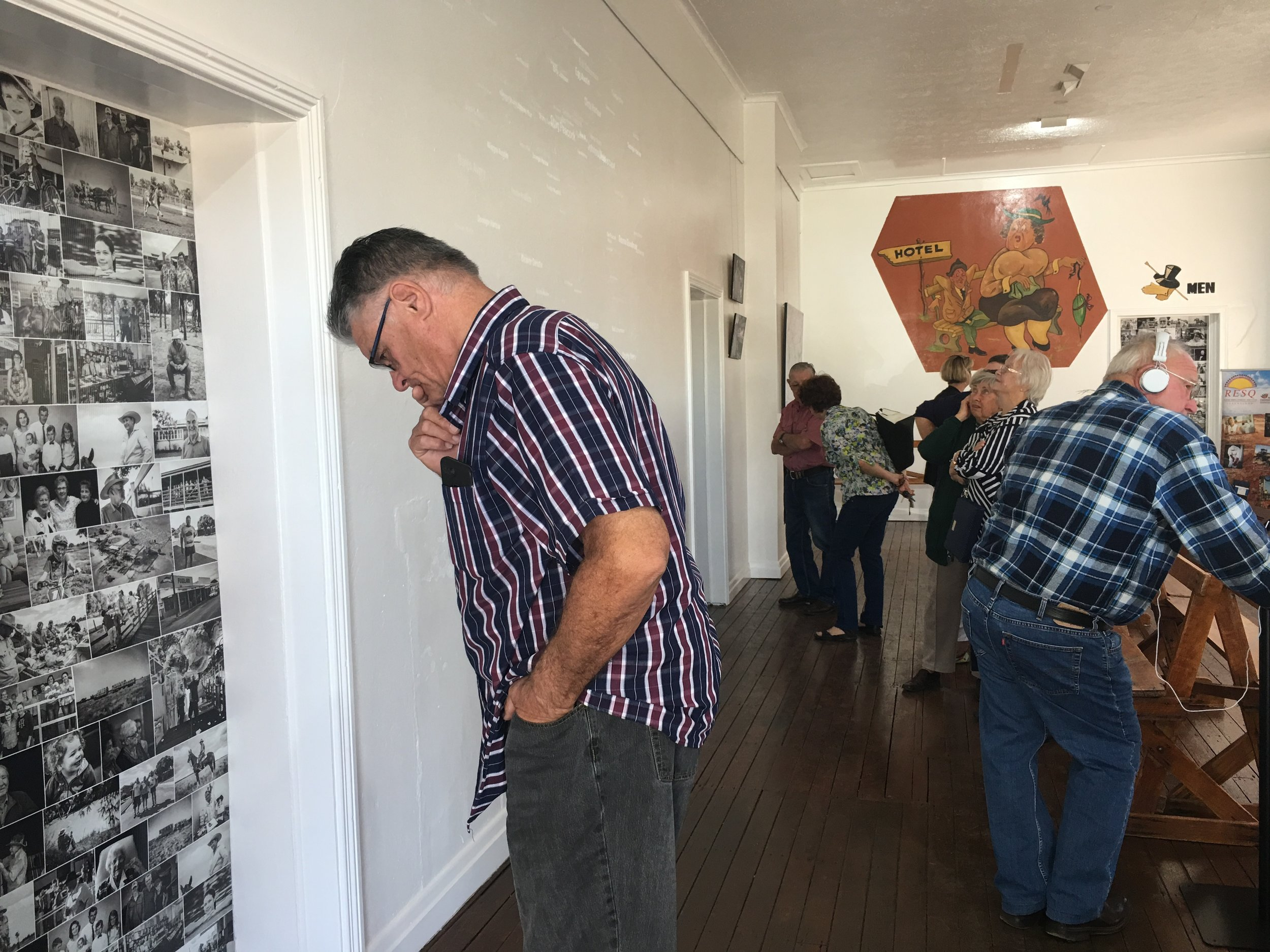 Bushmans Gallery Opening Night