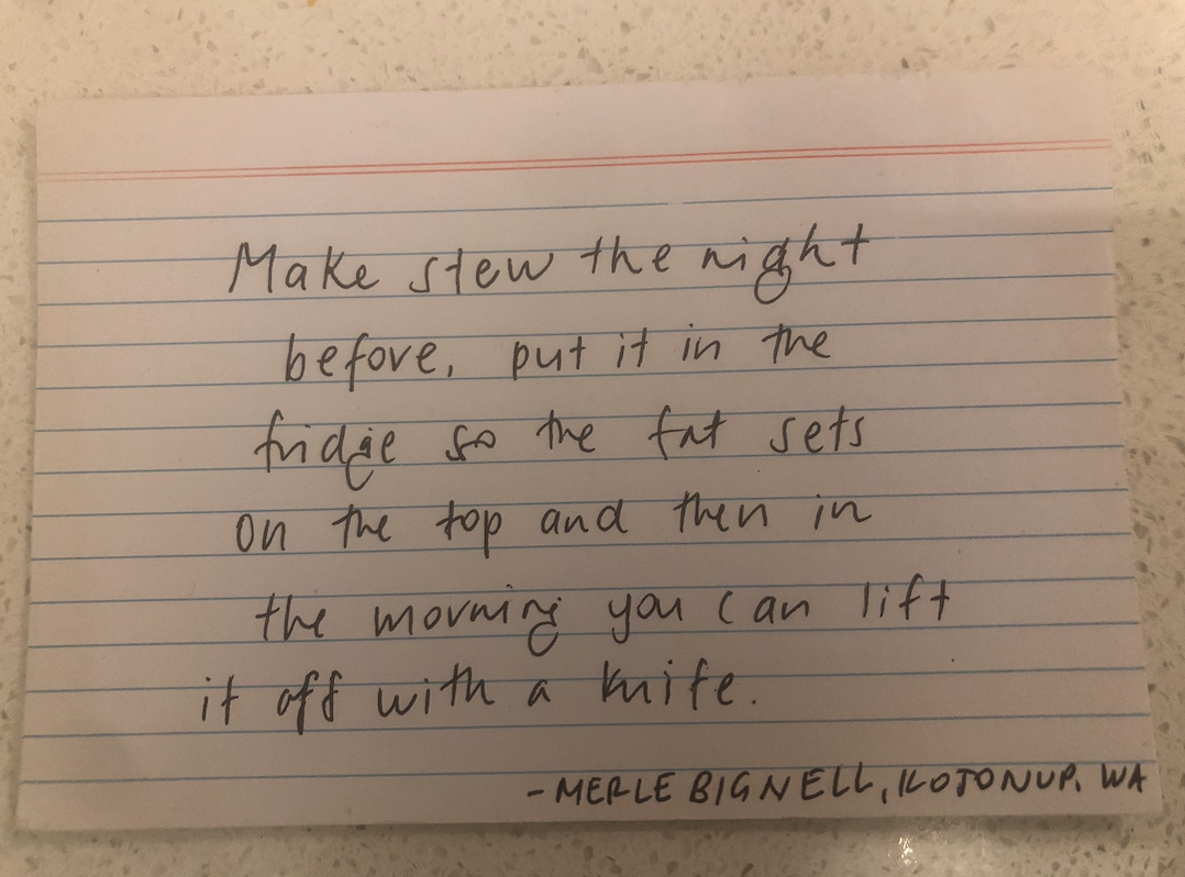 Merle Bignell's #countrylifetidbits