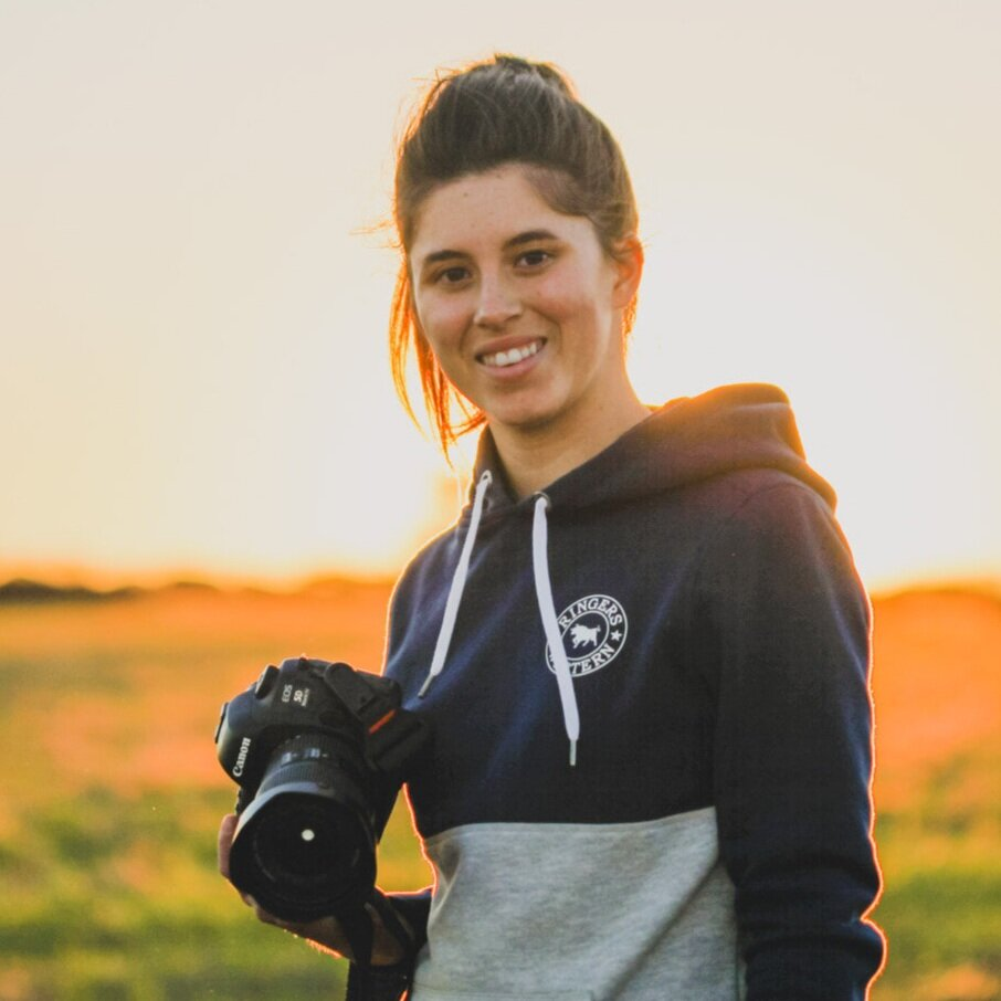ELLIE MORRIS   PHOTOIGRAPHER  I'm a photographer based in WA's wheatbelt, my work focuses on capturing rural life and landscapes.   Website |  Facebook  |  Instagram  |  Youtube