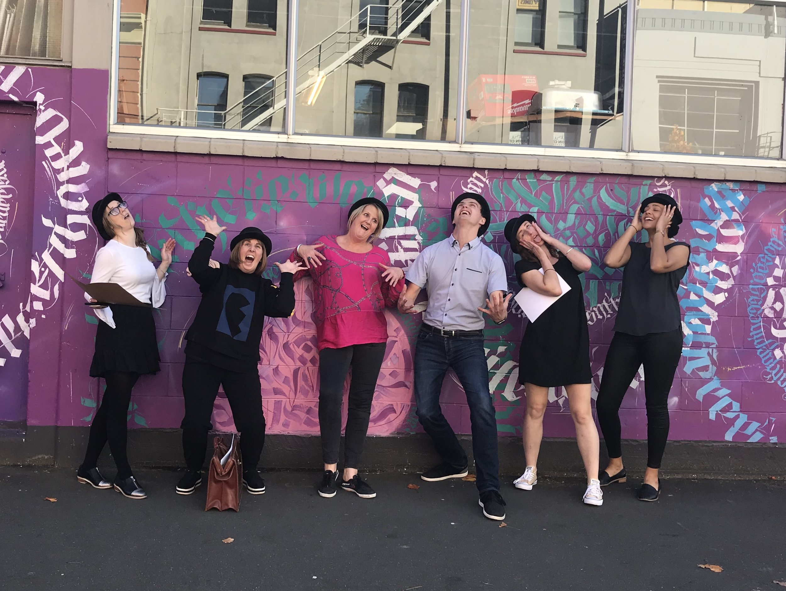 """""""The Staff were buzzing after the event, all had a great time. WPSH provided lots of creativity, fun & laughter."""" - — Darryn Wilkie, Business Manager, Select Recruitment"""