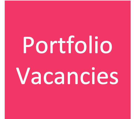 Vacancies within our portfolio companies can be found  here .