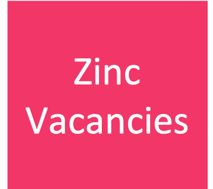 Please register  here  if you are interested in roles within the Zinc Team.