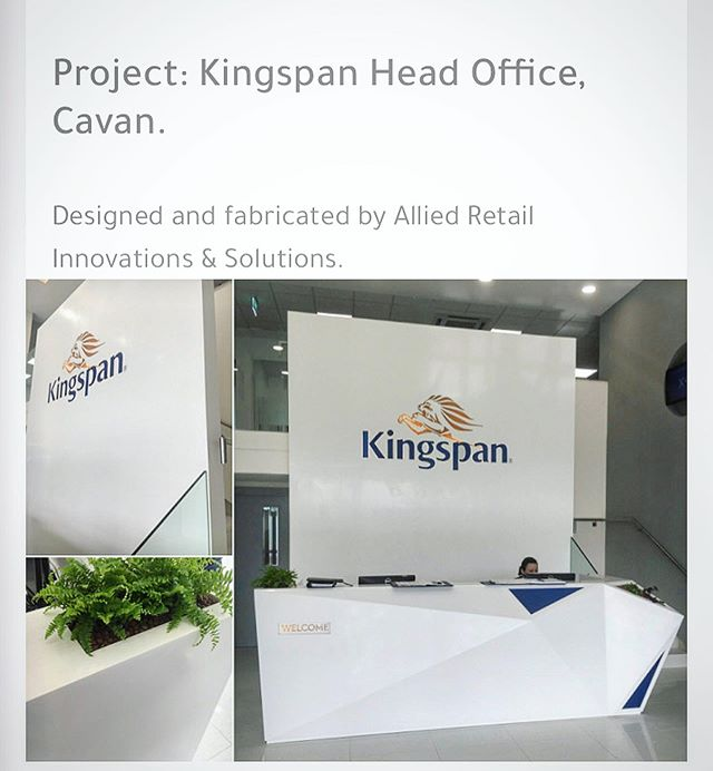 Proudly designed and built by Allied.  #design #manufacture #install #shopfittingireland #retaildesign #alliedretail #shopfitting #kingspanireland