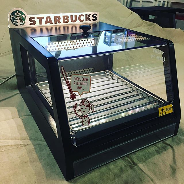 Cookie warmer prototype | Built by Allied  P.s. If you don't like warm cookies, please unfollow this page 😆  #retailsolutions #confectionary #design #manufacture #install #shopfitting #shopfittingireland #alliedretail #builtbyallied