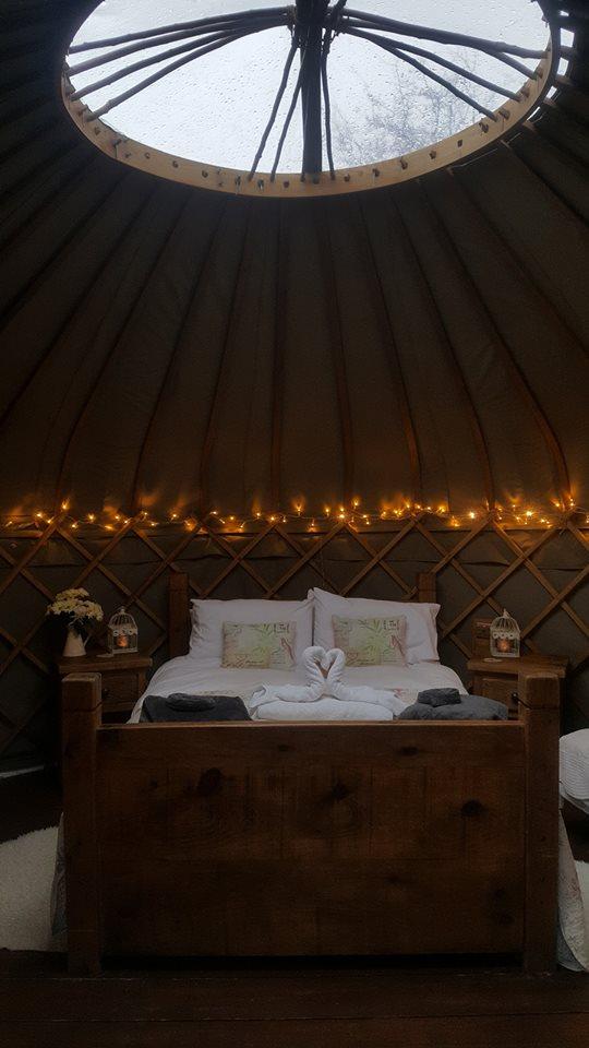 yurts in derbyshire