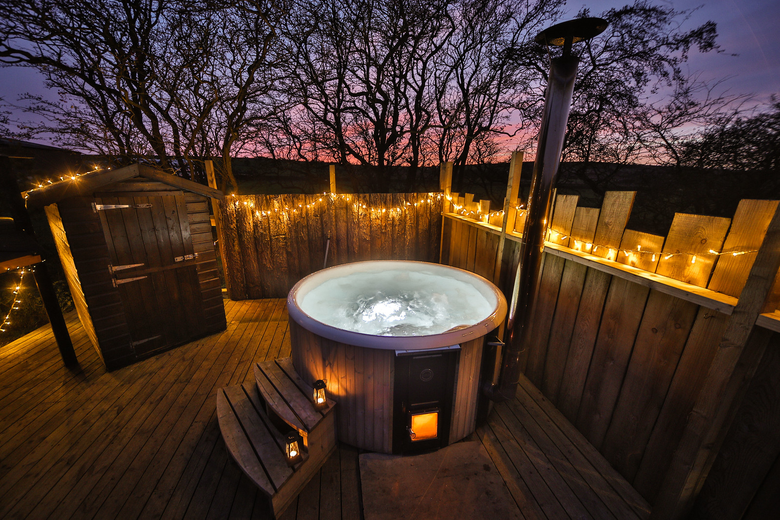 Peak District lodges with hot tubs