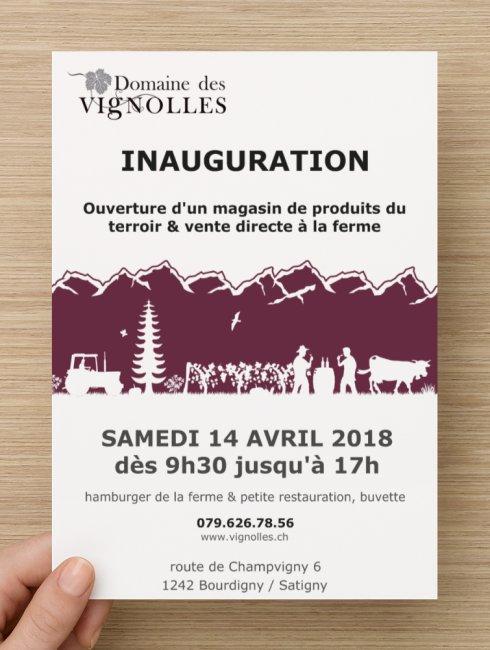 invitation marché