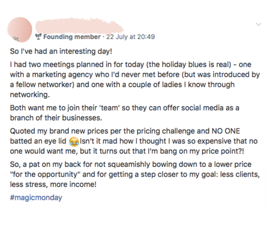 How to find your dream clients as a social media manager
