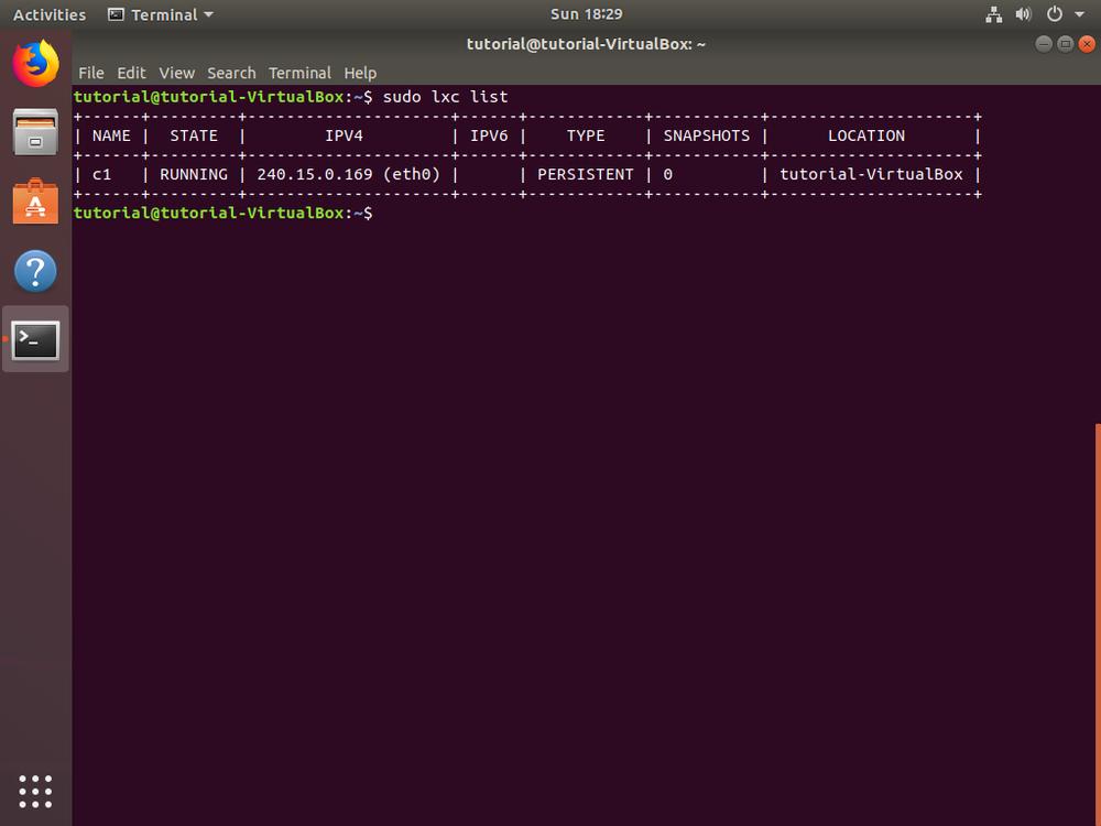 Howto: Setup MySQL Server in LXD — Tristan's Sketchbook
