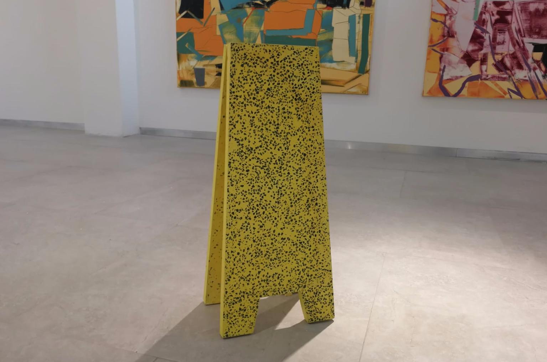 """Yael Efrati, """"Morning Mess (Part 1)"""", 2018"""