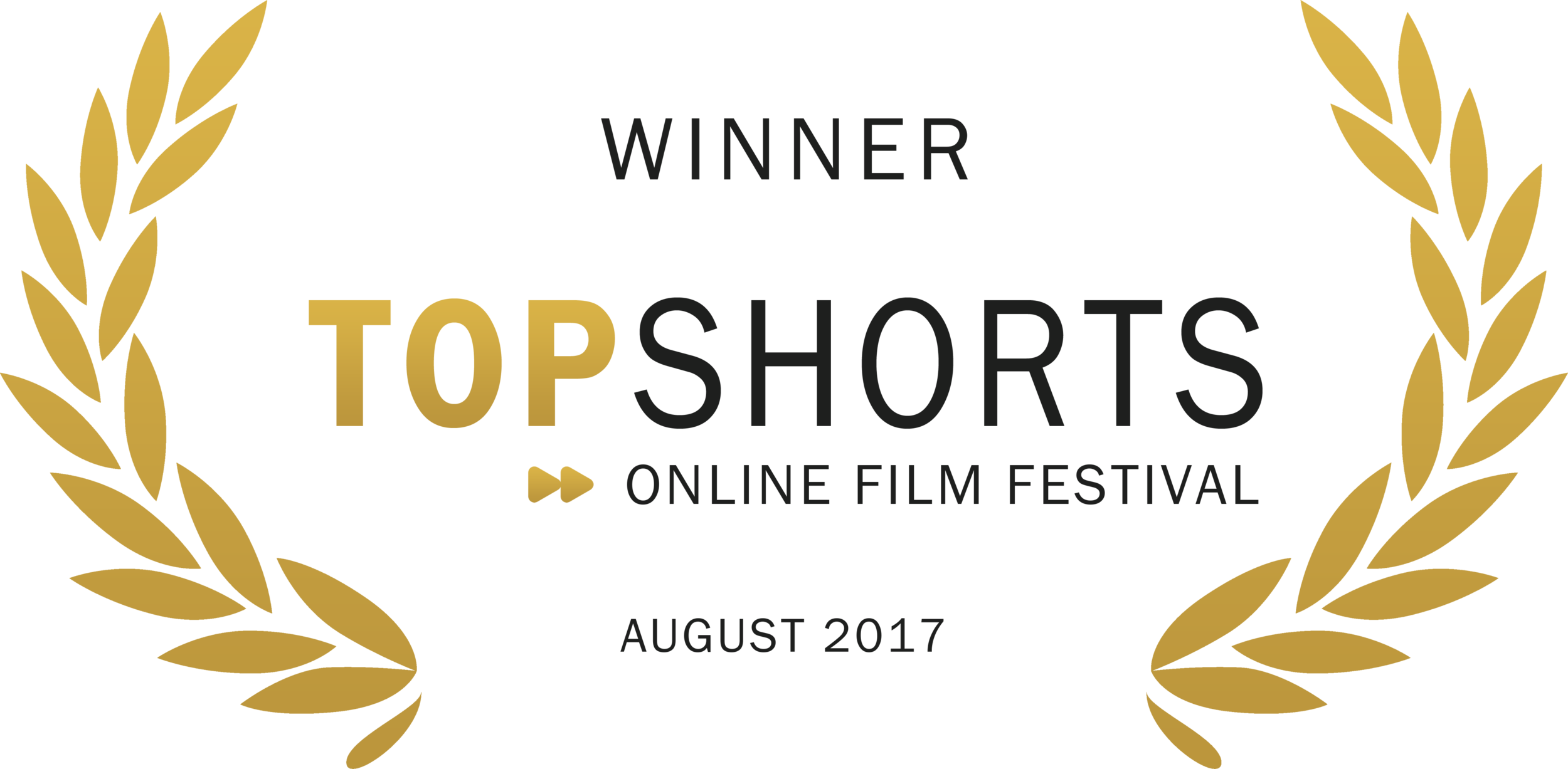 WINNER - Top Shorts Film Festival - 2017.png
