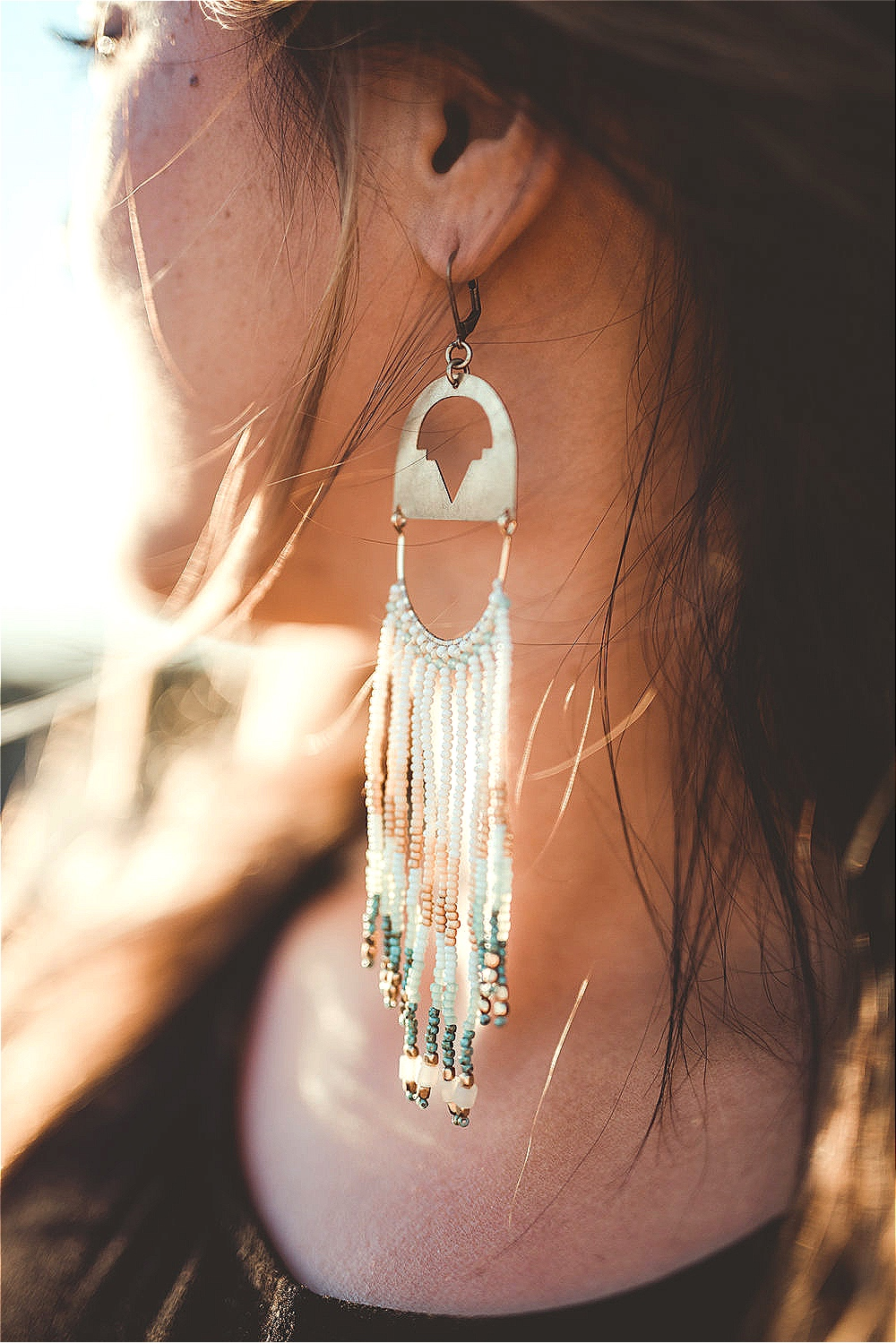 White Sands Earrings