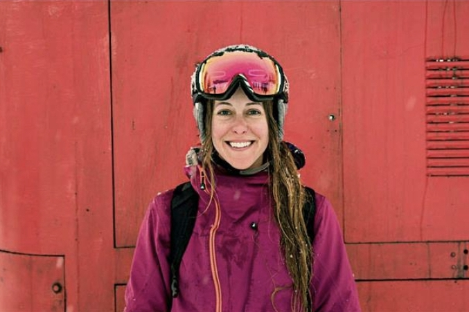 Jessica Leahey  Jess is a full time artist and illustrator living in Revelstoke, BC. Jess loves skiing. Everything about it… the activity, the culture and the people.