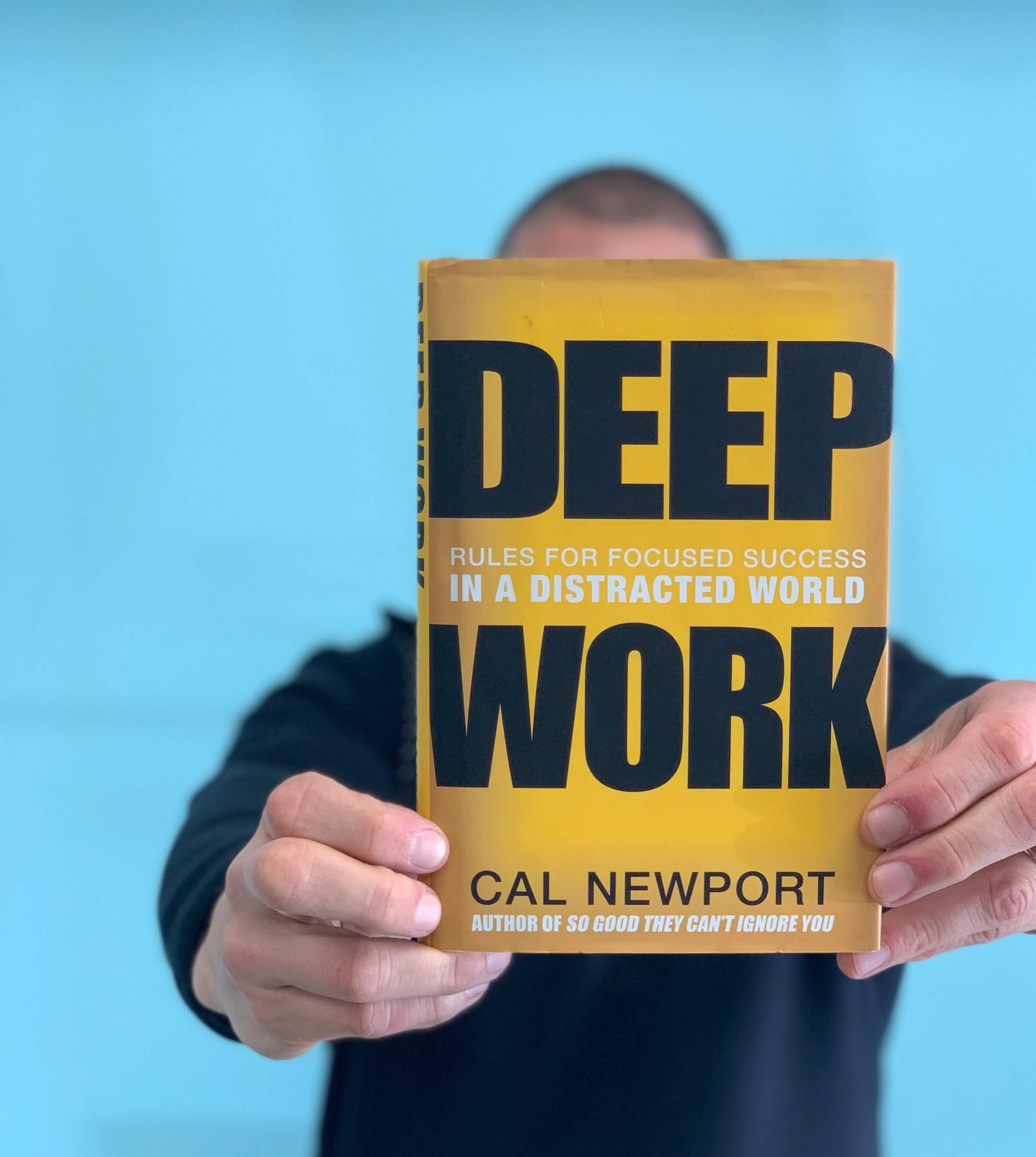 - Deep Work by Cal NewportThis book, in addition to Digital Minimalism, these are two of the most influential books I've read in the last year. Newport illustrates the distractions, seemingly essential to our everyday are not the enemy, but an opportunity to double down on focus, in an effort to delve into the deeper marrow of our work. While busy-ness has been construed for business as usual, Newport reminds us that our most important work requires our most cognitive energy. He provides a regimen for cultivating this skill and mastering our mind to regain control and become prolific once again. I highly recommend this book for anyone needing the mental space to tackle big ideas, projects, and work.