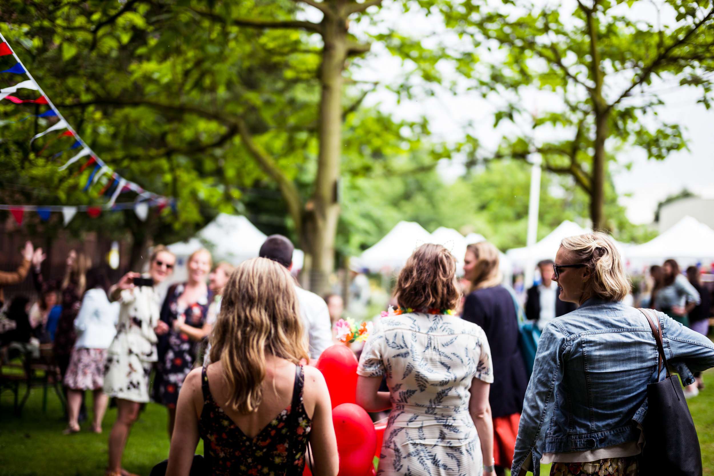 B&H Summer brunch party in a park in Clerkenwell