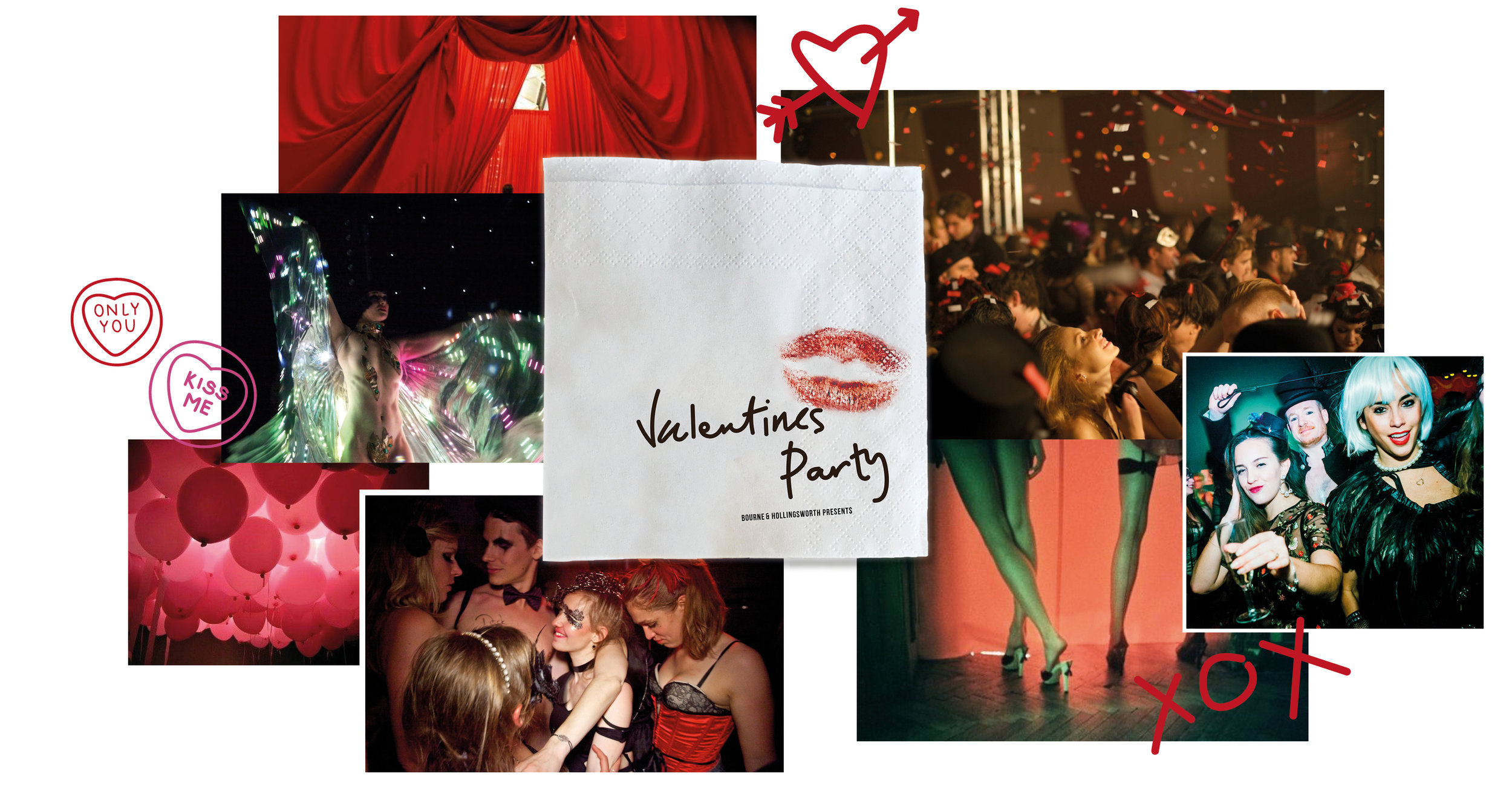 Valentine's Party - Bourne & Hollingsworth