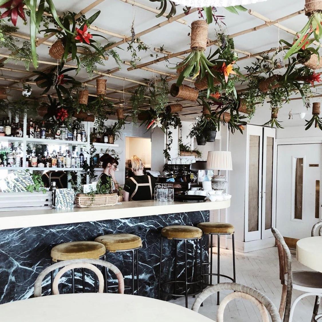 Garden Room's Living Bar - Botanical cocktails in the sky