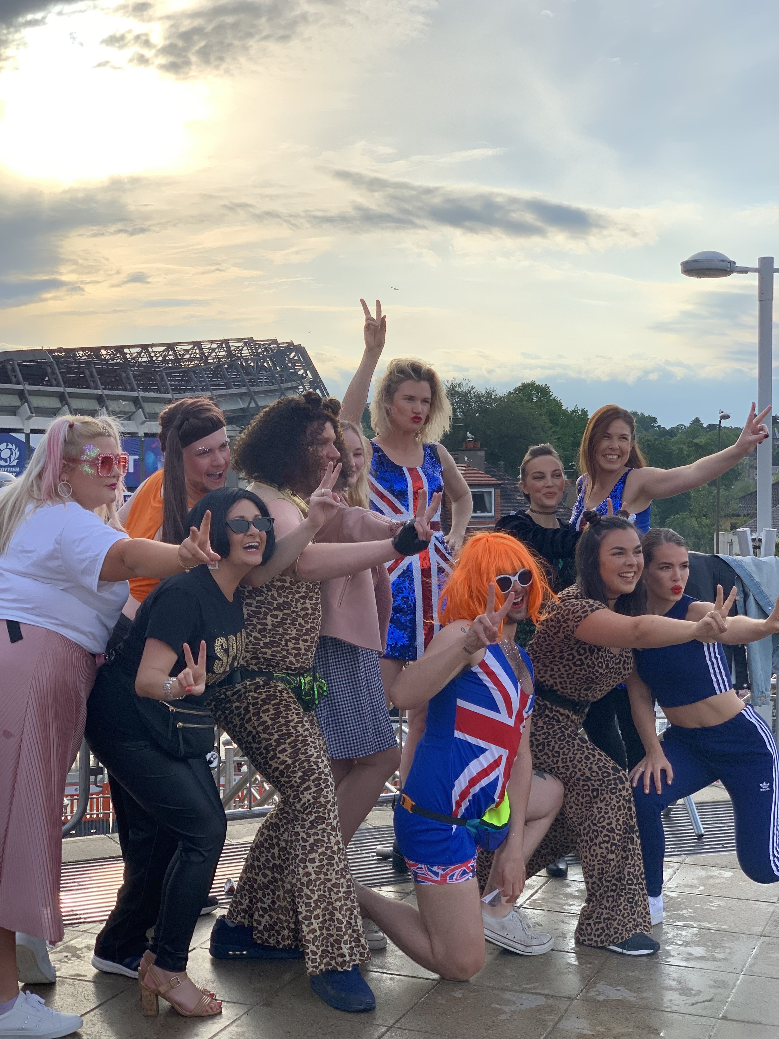 The excitement for the Spice Girls SPICEWORLD Reunion is amazing!