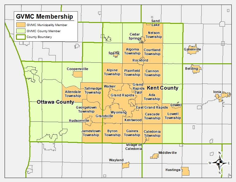 Download or view a copy of the GVMC Membership map in PDF format.