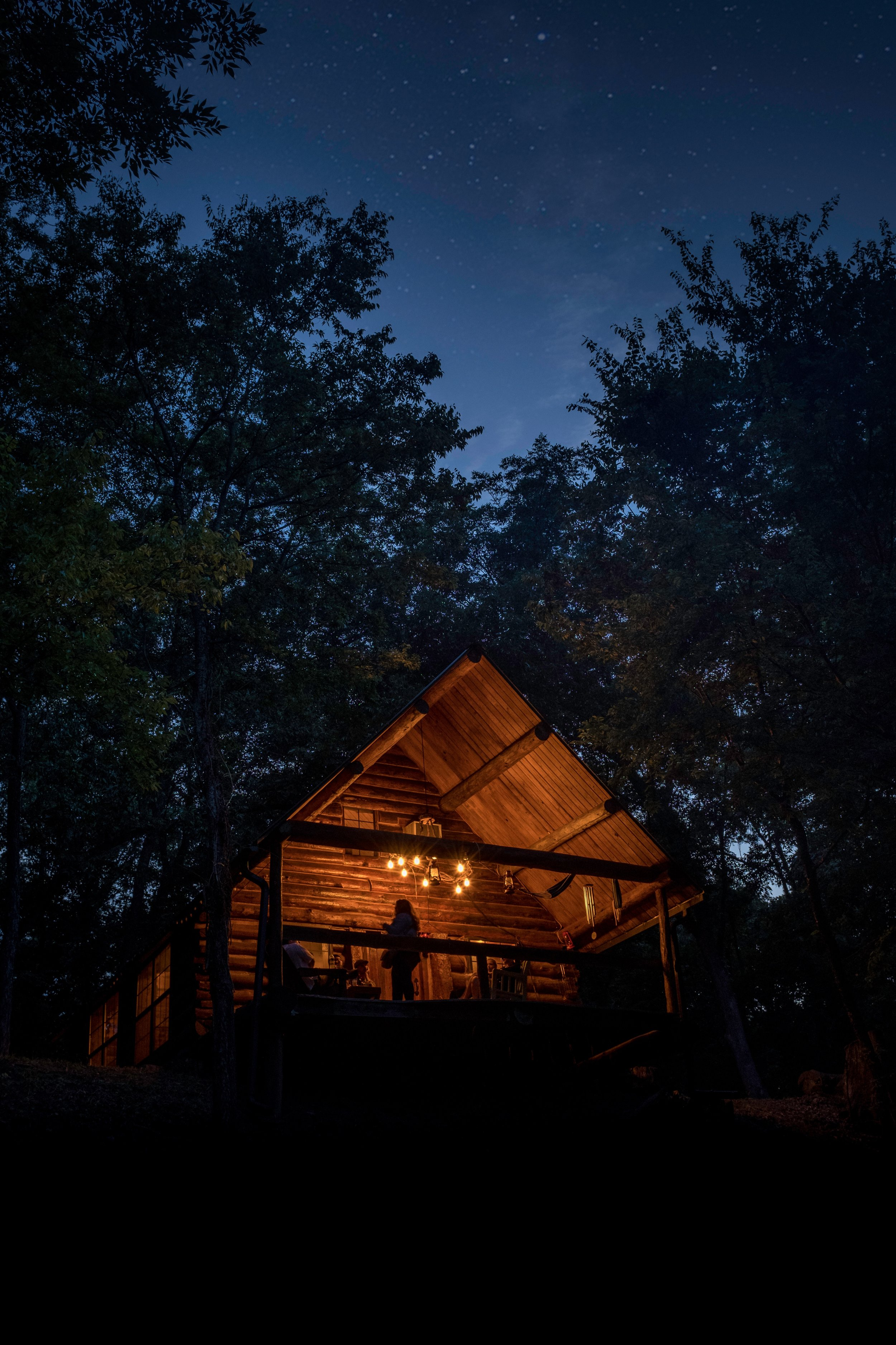 With the help of our friends and family we built a cabin, with the help of the community we're building our brewery - It all started with a cabin in the woods