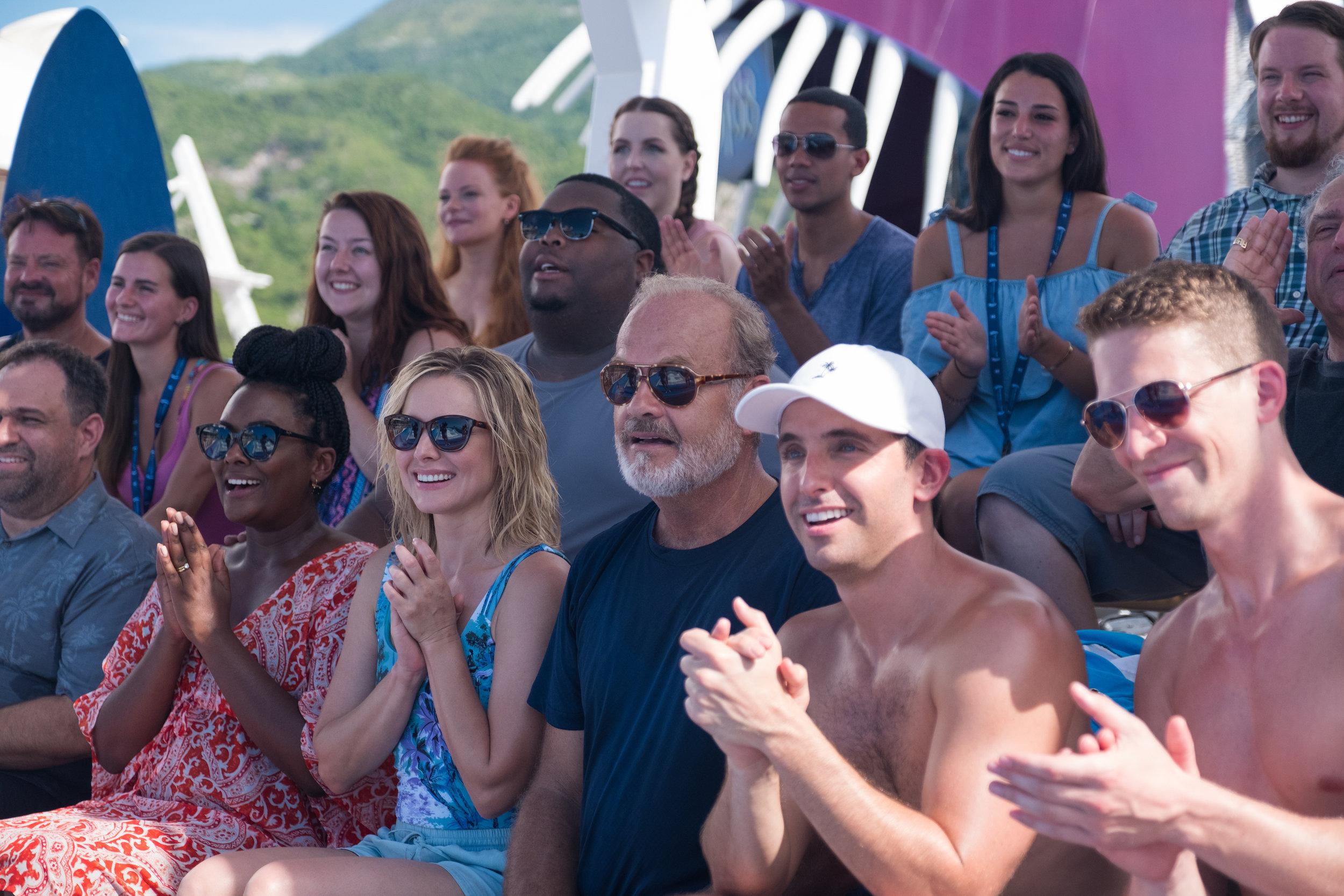 """""""Like Father"""" - Kristen Bell, Kelsey Grammer, Blaire Brooks, Zach Appleman, Paul W. Downs, & Leonard Ouzts - Netflix"""