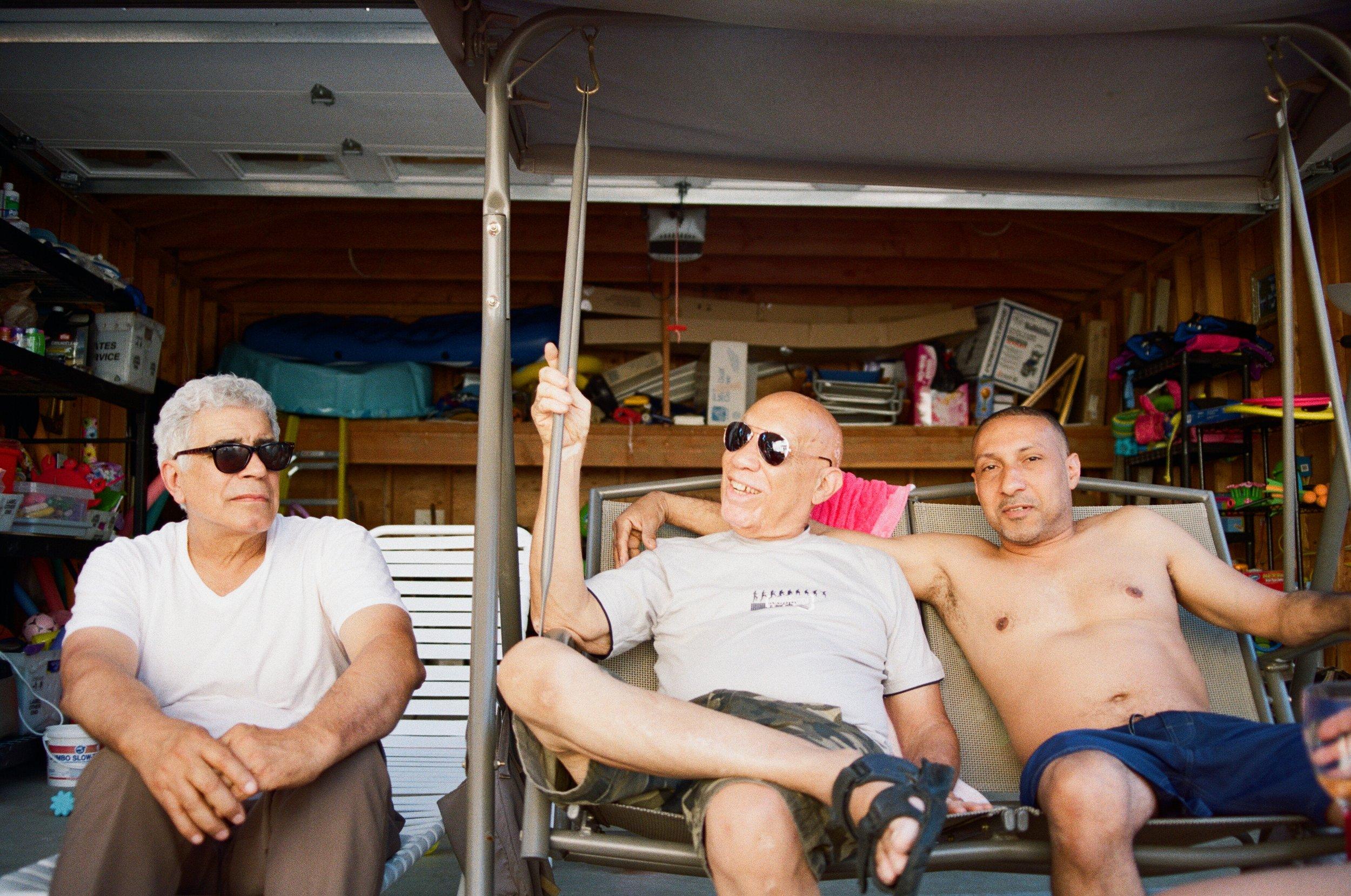 E. Burgos, O. Aragones Sr, & O. Aragones Jr