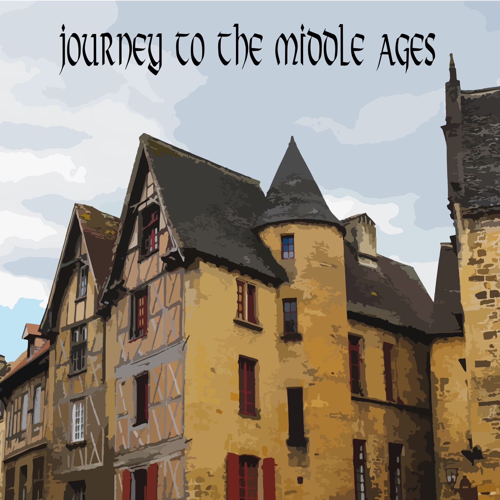 3. Journey to the Middle Ages - A five-piece collection containing medieval/celtic inspired songs.