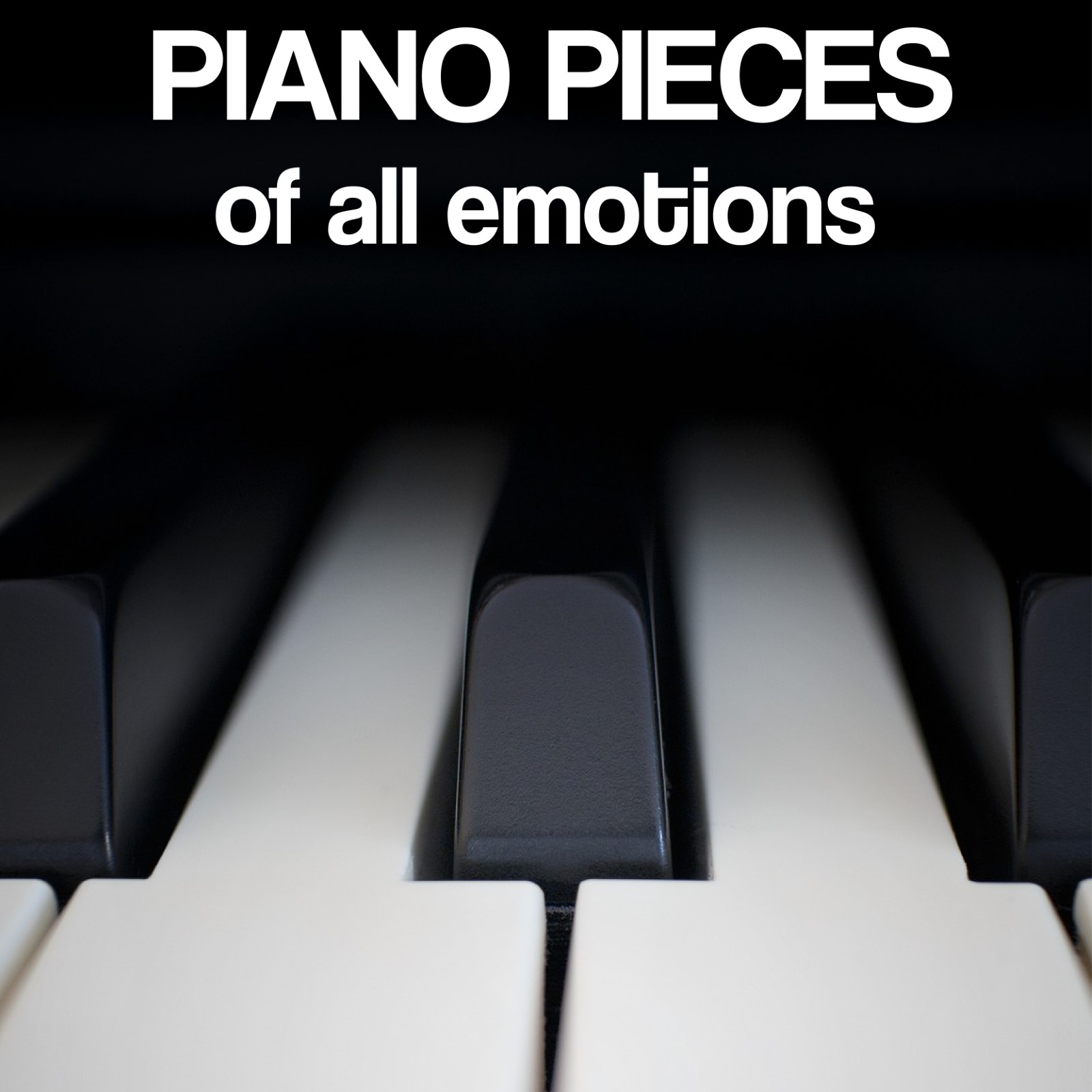 - I use piano in almost everything, but in this collection you find the songs that were written with the keys as the primary instrument.