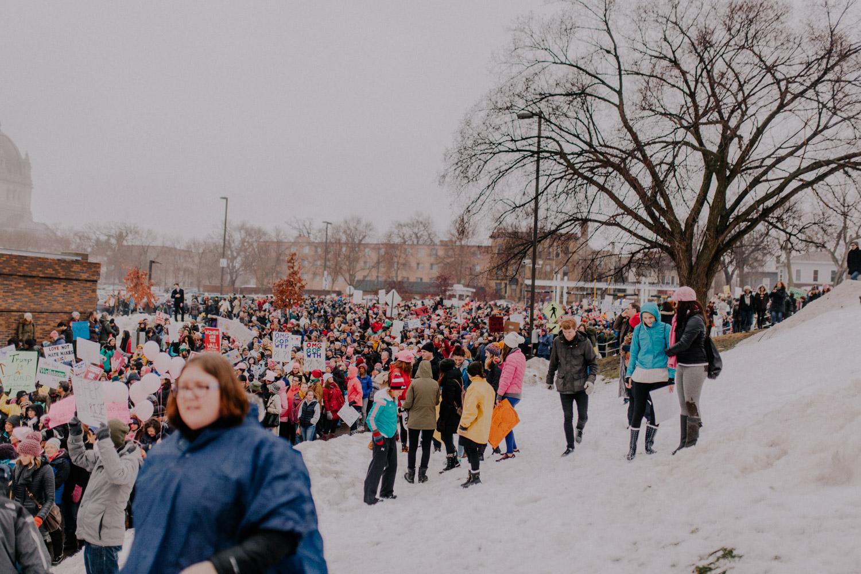 Bryden Giving Photographer, Politics, Women's March, Photojournalism, Wedding Photographer, Twin Cities, Saint Paul, Minneapolis, Documentary