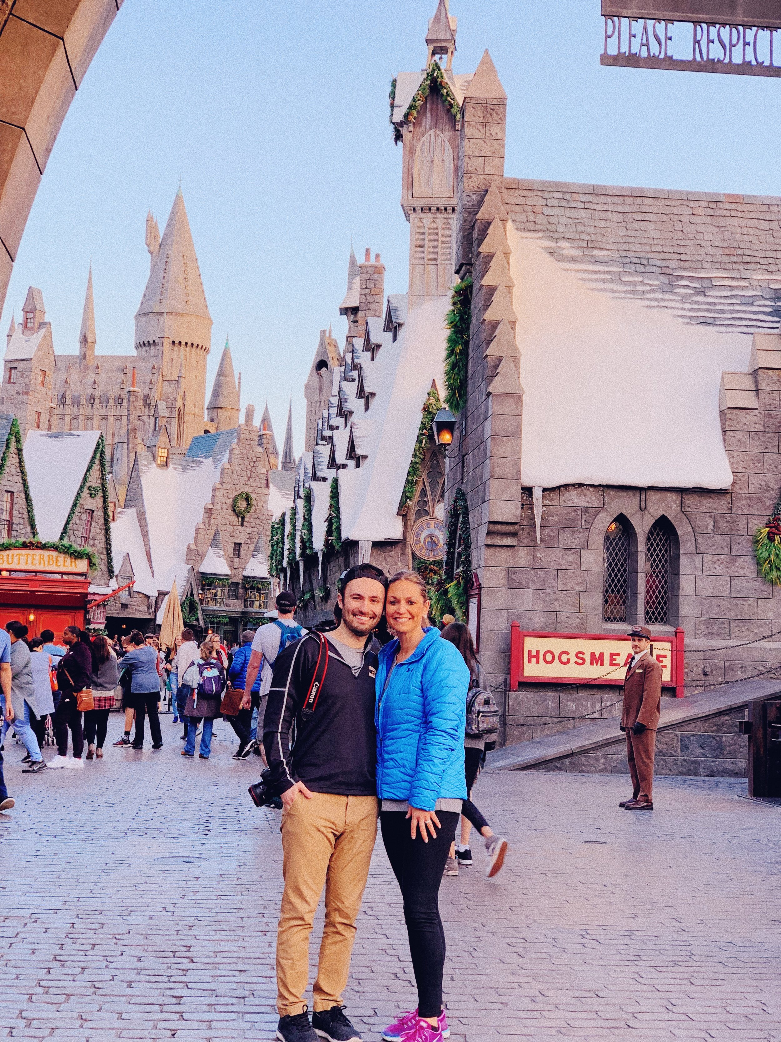 My mom surprised me with tickets to Universal Studios and Harry Potter World, a dream of mine. Harry Potter has been an influential part of my life, and it was more than kind and gracious of my mom to give me this experience; it was love.